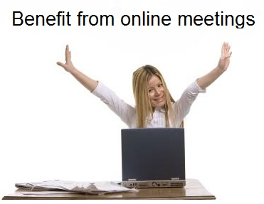 Online Meeting Benefits